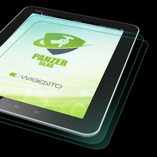 2x 0, 3 mm H9 Hart Glas Tempered Folie für Apple iPad Pro 11.0 2020 Schutz Panzer