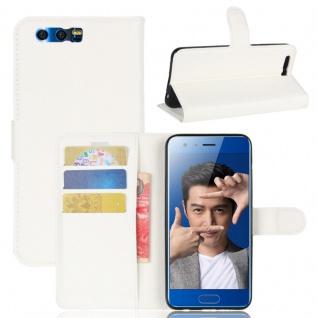 Schutzhülle Weiß für Huawei Honor 9 Bookcover Tasche Case Cover Top Zubehör Neu