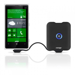 Original Cabstone Power Akku 5.2 mAh Batterie Charger für Samsung HTC Sony Apple - Vorschau 2