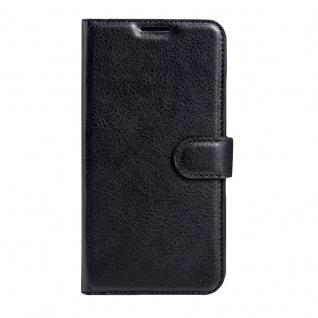 Tasche Wallet Premium Schwarz für Nokia 6 Schutz Hülle Case Cover Etui Zubehör - Vorschau 2