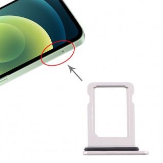 SIM Karten Halter für Apple iPhone 12 Mini Weiß Card Tray Ersatzteil Neu