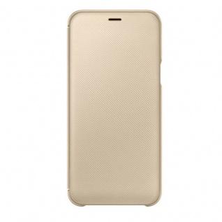 Samsung Wallet Cover Hülle EF-WA600CFEGWW Galaxy A6 2018 A600F Schutzhülle Gold - Vorschau 2