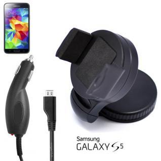 2in1 KFZ Halterung + Ladekabel für Samsung Galaxy S4 i9500 Car Holder Rabatt NEU