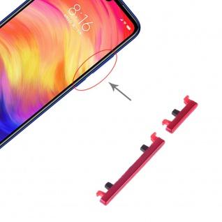 Power Volume Button Rot für Xiaomi Note 7 / Pro Lautstärke On Off Ersatzteil