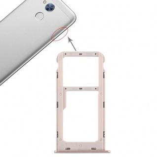 Für Huawei Honor 6A Karten Halter Sim Tray Schlitten Holder Gold Reparatur Neu