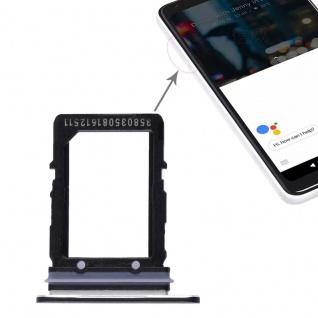 Für Google Pixel 2 XL Ersatzteil Simkartenhalter Card Tray Halter Schwarz Neu