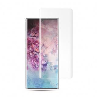 Für Samsung Galaxy Note 10 1x 4D Display 0, 3 mm H9 Hart Glas Transparent Curved