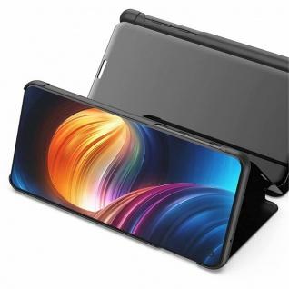 Für Samsung Galaxy A20e Clear View Smart Cover Lila Etuis Tasche Hülle Wake UP - Vorschau 4