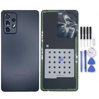 Samsung Akkudeckel Akku Deckel Batterie Cover Galaxy A72 GH82-25448A Schwarz
