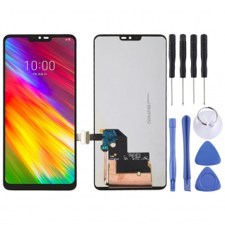 Für LG G7 ThinQ Display Full LCD Touch Screen Ersatz Einheit Reparatur Schwarz