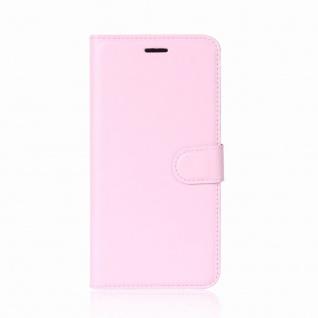 Tasche Wallet Premium Rosa für Huawei Mate 10 Lite Hülle Case Cover Etui Schutz - Vorschau 2