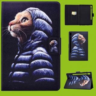 Für Lenovo Tab M10 Plus 10.3 Zoll X606F Motiv 50 Tasche Kunst Leder Hülle Etuis