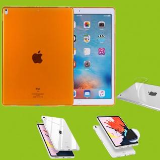 Für Apple iPad Pro 11.0 Zoll 2018 Orange Tasche Hülle Case Cover TPU Silikon Neu