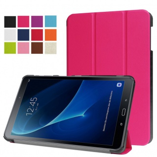 Smartcover Pink für Samsung Galaxy Tab A 10.1 T580 T585 Hülle Case Tasche Schutz