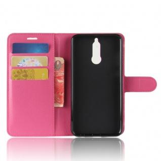 Tasche Wallet Premium Pink für Huawei Mate 10 Lite Hülle Case Cover Etui Schutz - Vorschau 5