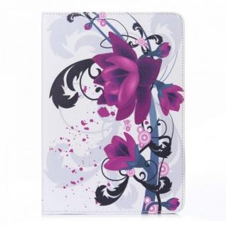 Schutzhülle Kunstleder Tasche Motiv 3 für Apple iPad Air 2 2014 Case Kappe Hülle