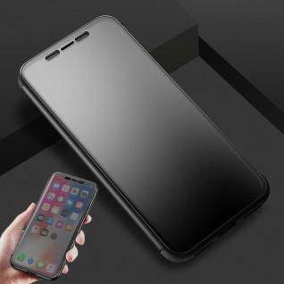 Original ROCK Shadow Smartcover Tasche Schwarz für Apple iPhone X / 10 5.8 Zoll