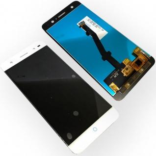 Ersatz Display LCD Komplett Einheit für ZTE Blade V7 Lite Reparatur Weiß Ersatz - Vorschau 1