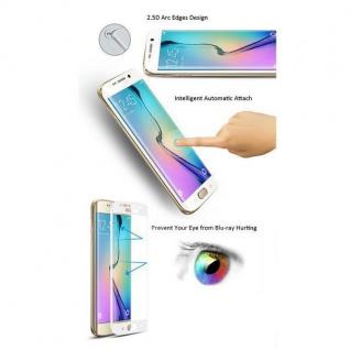 2x 4D Full 0, 3 H9 Curved Hartglas Schwarz Folie für Samsung Galaxy Note 9 N960F - Vorschau 3