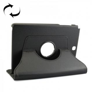 Schutzhülle 360 Grad Schwarz Tasche für Samsung Tab A 9.7 T555 T555N T550 Hülle