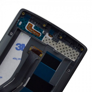 Display Full LCD Komplett Einheit mit Rahmen für ONEPLUS One 1+ A0001 Schwarz - Vorschau 3