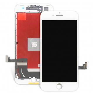Display LCD Komplett Einheit Touch Panel für Apple iPhone 8 Plus 5.5 Weiß Neu