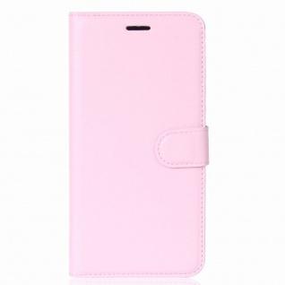 Tasche Wallet Premium Rosa für Sony Xperia XA2 Hülle Case Cover Schutz Etui Neu - Vorschau 2