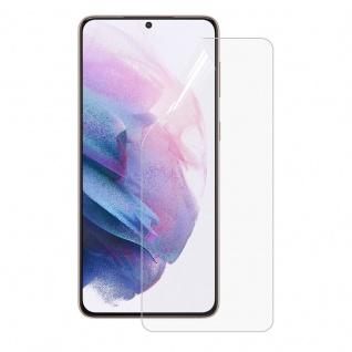Display Hydrogel Folie für Samsung Galaxy S21 Plus Schutz Cover Gel Front
