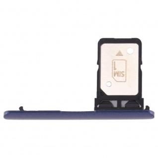 Für Sony Xperia 10 Simkarten Halter Card Tray Blau SD Card Ersatzteil Zubehör