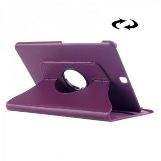 Schutzhülle 360 Grad Lila Tasche für Samsung Galaxy Tab S2 9.7 T810 T815N Case