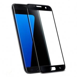 0, 3 mm H9 gebogenes Panzerglas Schwarz Folie für Samsung Galaxy S7 Edge G935 F