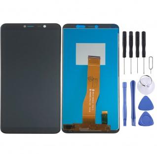 Für Wiko Y80 Display LCD Einheit Touch Screen Ersatz Teil Reparatur Schwarz Neu