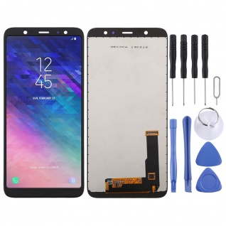 Für Samsung Galaxy A6 Plus 2018 Display Full LCD Touch Screen Reparatur Schwarz