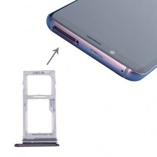 Für Samsung Galaxy S9 G960 / S9 Plus G965 Simkarten Halter Sim Tray SD Card Grau