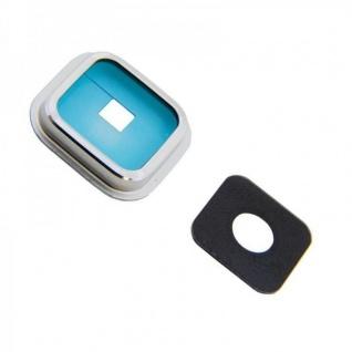 Kamera Glas Kamera Rahmen für Samsung Galaxy S5 G900 SM-G900F Kameraglas Zubehör