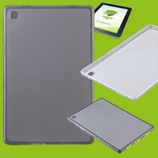 Für Samsung Galaxy Tab A7 2020 Transparent Hülle Tablet Tasche Cover + H9 Glas