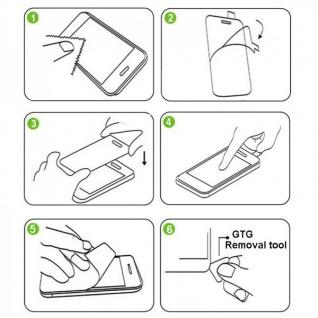 Für Samsung Galaxy J4 Plus J415F Magnet Tasche Schwarz / Transparent + H9 Glas - Vorschau 3