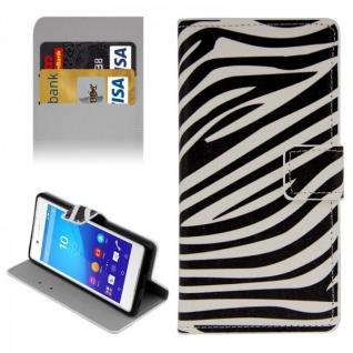 Schutzhülle Muster 7 für Sony Xperia Z3 Plus E6553 Bookcover Tasche Hülle Case