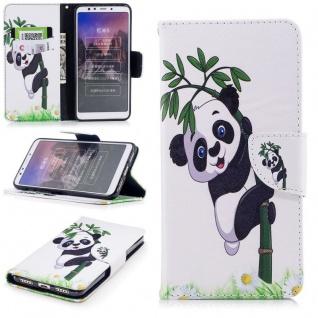 Für Huawei P20 Kunstleder Tasche Book Motiv 34 Schutz Hülle Case Cover Etui Neu