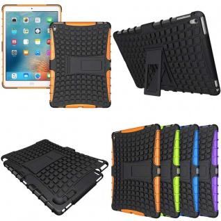 Hybrid Outdoor Schutzhülle Cover Orange für iPad Pro 9.7 Zoll Tasche Case Hülle