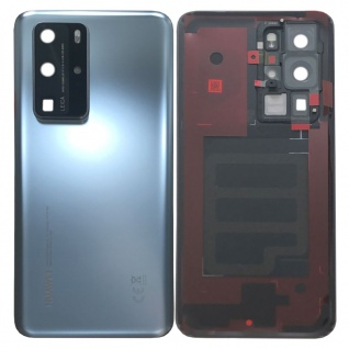 Huawei Akkudeckel Akku Deckel Batterie Cover Silber für P40 Pro 02353MNA Neu