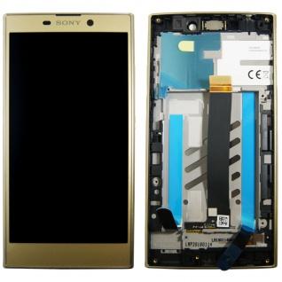 Sony Display LCD Komplett für Xperia L2 A/8CS-81030-0002 Reparatur Gold Ersatz