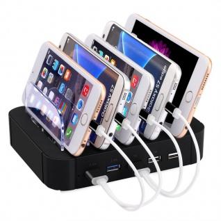 Multidock Dockingstation Sync Lade Dock Tischladestation für Smartphones Tablets