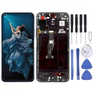 Für Huawei Honor 20 Pro Schwarz Display LCD Einheit Touch mit Rahmen Ersatz Neu