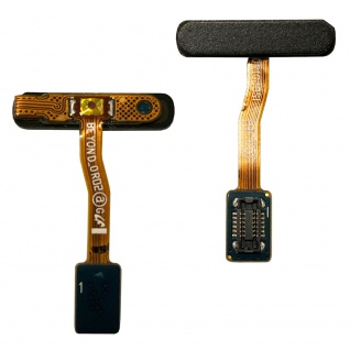 Power Button Fingerprint Flexkabel für Samsung Galaxy S10e G970F Schwarz Ersatz