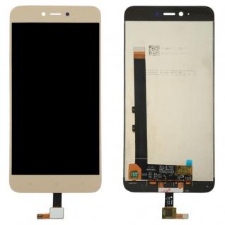 Für Xiaomi Redmi Note 5A Reparatur Display LCD Komplett Einheit Touch Gold Neu