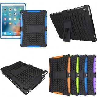 Hybrid Outdoor Schutzhülle Cover Blau für iPad Pro 9.7 Zoll Tasche Case Hülle
