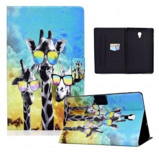 Für Samsung Galaxy Tab A 10.5 T590 2018 Motiv 84 Tablet Tasche Kunst Leder Etuis