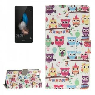 Schutzhülle Muster 42 für Huawei Ascend P8 Lite Bookcover Tasche Hülle Wallet