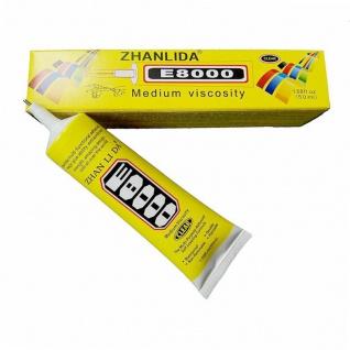 Universal Klebstoff E8000 50ml Handyreparatur Schmuck Alleskleber Glue Adhesive